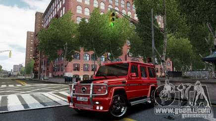 Mercedes-Benz G500 for GTA 4