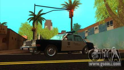 Dodge Diplomat 1985 LAPD Police for GTA San Andreas