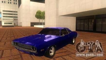 Dodge Challenger RT Hemi for GTA San Andreas