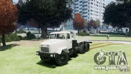 KrAZ-6322 for GTA 4