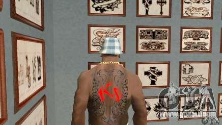 Albanian Eagle Tattoo for GTA San Andreas