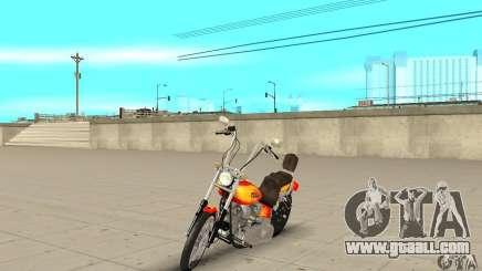 Harley Davidson softail Skin 2 for GTA San Andreas