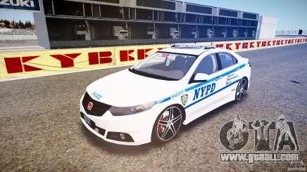 Honda Accord Type R NYPD (City Patro 1950l) [ELS] for GTA 4