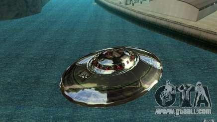 Real UFO for GTA San Andreas