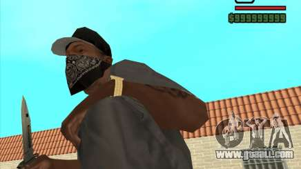 New Knife for GTA San Andreas