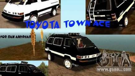 Toyota Town Ace for GTA San Andreas
