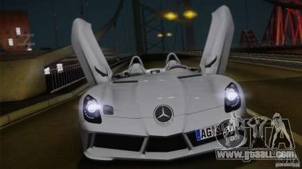 Mercedes-Benz SLR Stirling Moss 2005 for GTA San Andreas