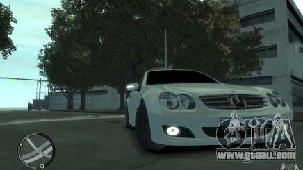 Mercedes-Benz SL 500 2006 for GTA 4