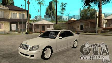 Mercedes Benz S600 for GTA San Andreas