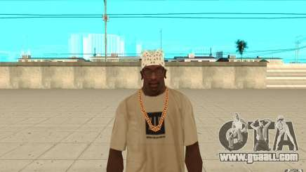Bandana white for GTA San Andreas