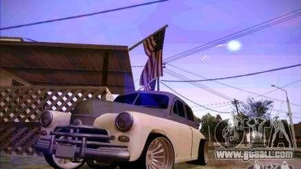 GAZ m 20 Winning 1956 for GTA San Andreas