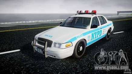 Ford Crown Victoria 2003 v.2 Police for GTA 4