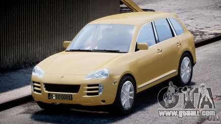 Porsche Cayenne S 2008 for GTA 4