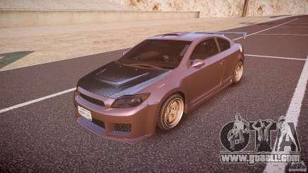 Toyota Scion TC 2.4 Tuning Edition for GTA 4