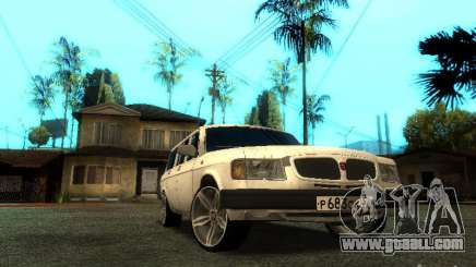GAZ VOLGA 310221 TUNING version for GTA San Andreas