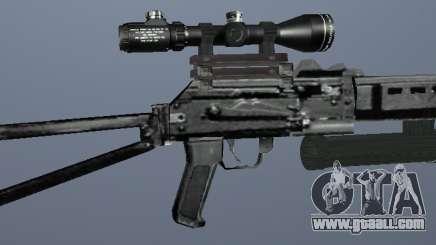 Bizon submachine gun for GTA San Andreas