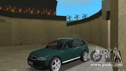 Audi Allroad Quattro for GTA Vice City