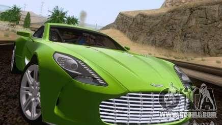Aston Martin One-77 for GTA San Andreas