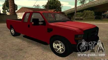 Ford F250 Super Dute for GTA San Andreas