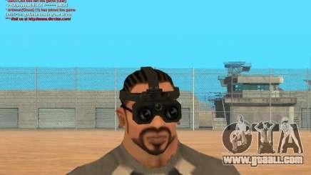 Thermal Goggles for GTA San Andreas