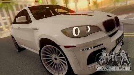 BMW X6 Hamann for GTA San Andreas