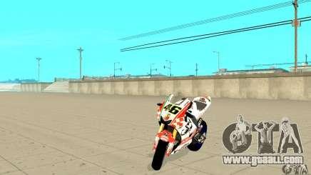 Honda Valentino Rossi Pcj600 for GTA San Andreas