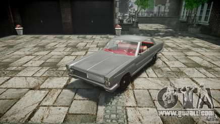 Ford Mercury Comet Caliente Sedan 1965 for GTA 4