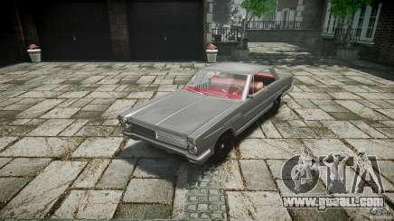 Ford Mercury Comet Caliente Sedan 1965 for GTA 4