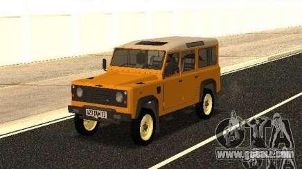 Land Rover Defender 110 for GTA San Andreas