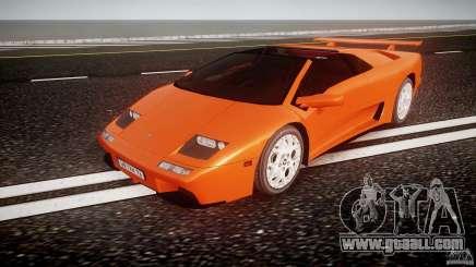 Lamborghini Diablo 6.0 VT for GTA 4