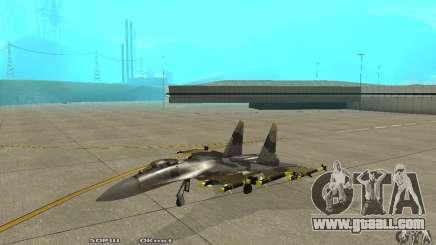 Su-37 Terminator for GTA San Andreas