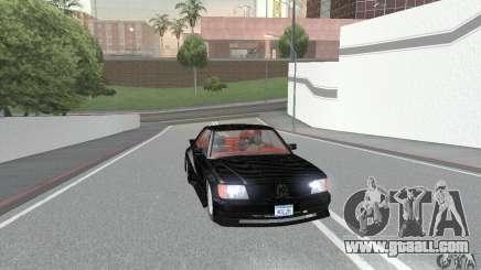 Mercedes-Benz C126 500SEC KS for GTA San Andreas