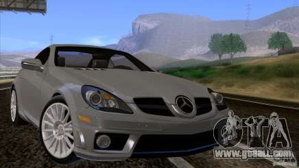 Mercedes-Benz SLK 55 AMG for GTA San Andreas