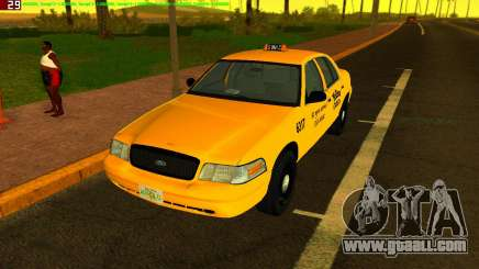 Ford Crown Victoria Taxi 2003 for GTA Vice City