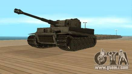Pzkpfw VI Tiger for GTA San Andreas