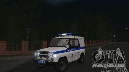 UAZ-31512 Police for GTA San Andreas