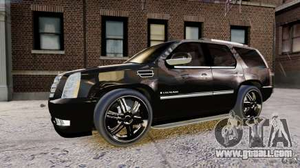 Cadillac Escalade 2007 v3.0 for GTA 4