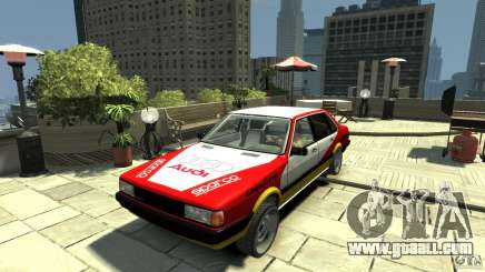 Audi 80 B2 Quattro Rally for GTA 4