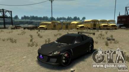 MAZDA RX8 for GTA 4