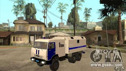 Kamaz Police for GTA San Andreas