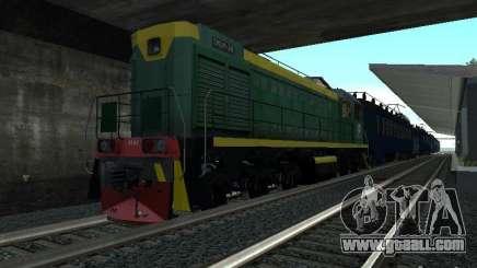 Tem2um-248 + Gondola freight company for GTA San Andreas