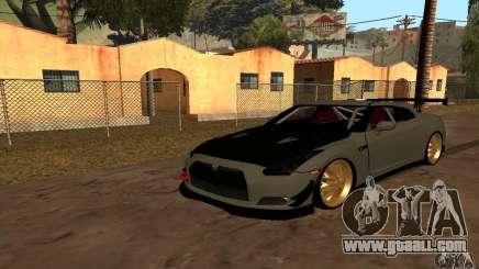 Nissan GTR R35 Tuning for GTA San Andreas