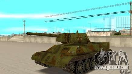 Tank T-34/76 for GTA San Andreas