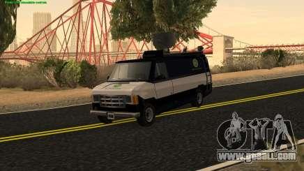New News Van for GTA San Andreas