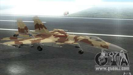 The Su-37 Terminator for GTA San Andreas