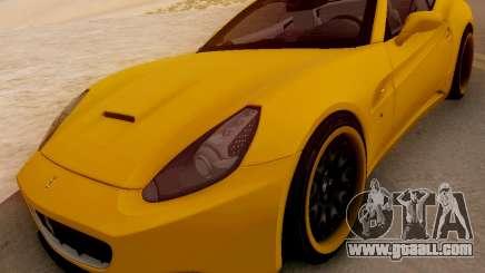 Ferrari California Hamann 2011 for GTA San Andreas