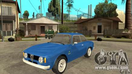 Alfa Romeo Giulia GTA for GTA San Andreas