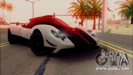 Pagani Zonda Cinque белый for GTA San Andreas