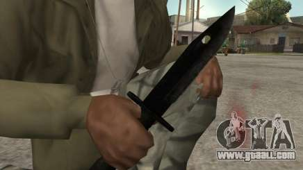 Knife for GTA San Andreas
