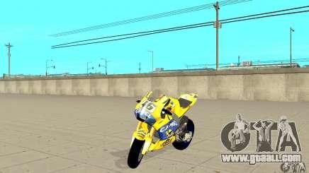 Honda Valentino Rossi Bf400 for GTA San Andreas
